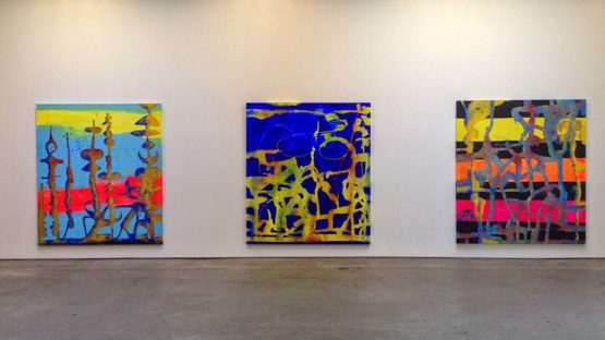 Chris Martin at Anton Kern Gallery