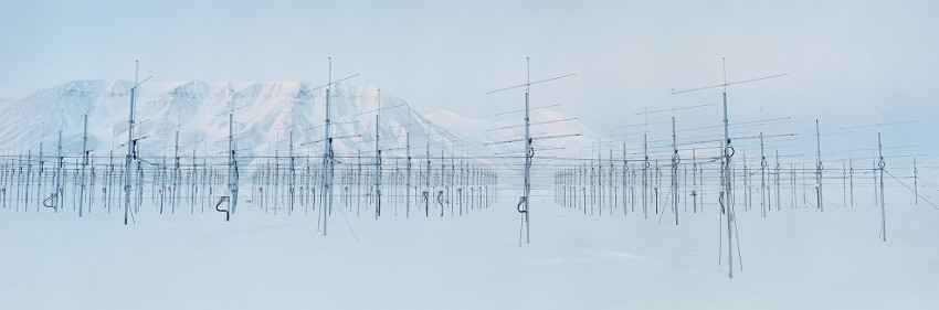 Antennaforest 2, from the Arctic Technology series, 2016, wolf, project, photo, 2013, photographs, free