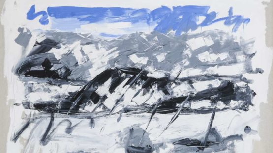 Christian Lindow - Untitled (Mountain), 1981 (detail)