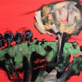 Christian Lucian Hamsea-Porcupine my Garden-2014