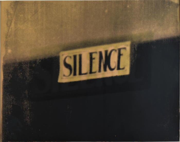 Christian Marclay-Silence-2006