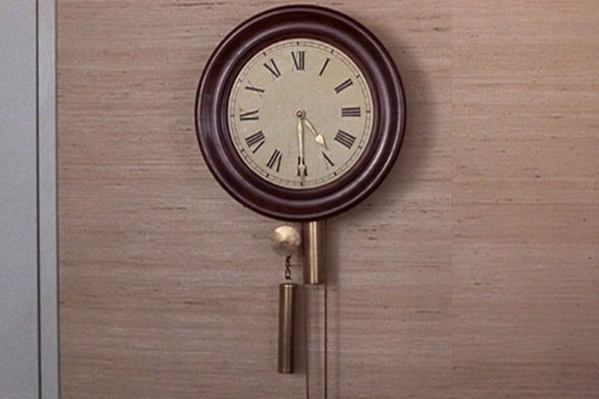 Christian Marclay - The Clock, film still