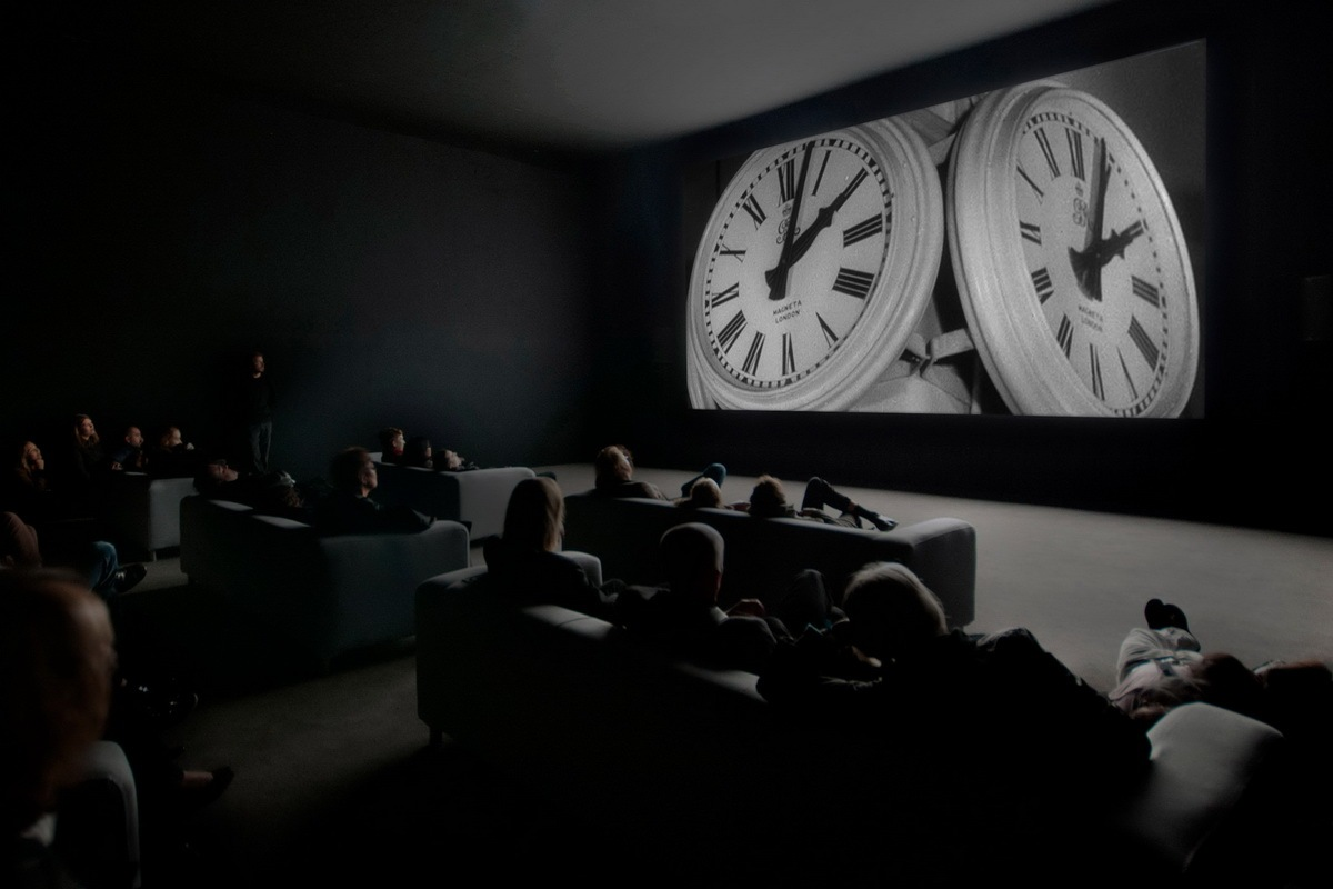 Christian Marclay - The Clock, installation view