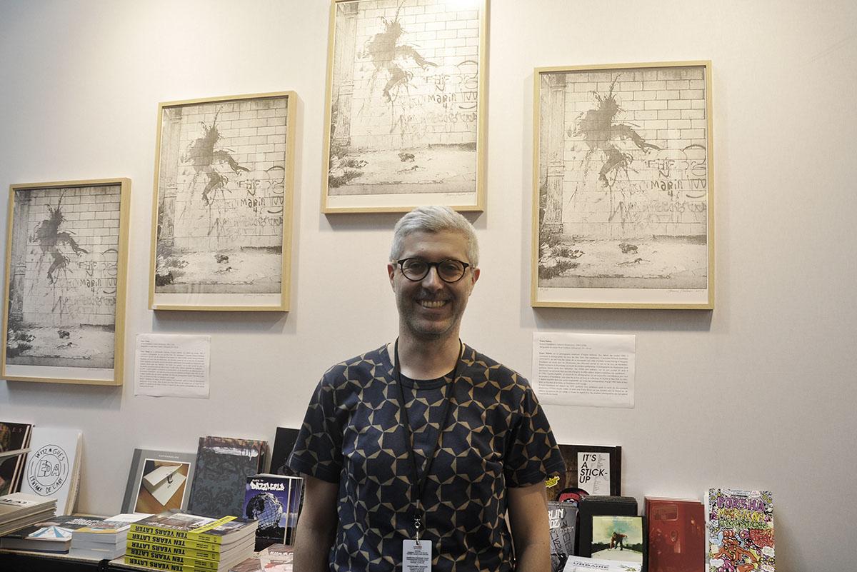 Christian Omodeo of Le Grand Jeu at Urban Art Fair 2018