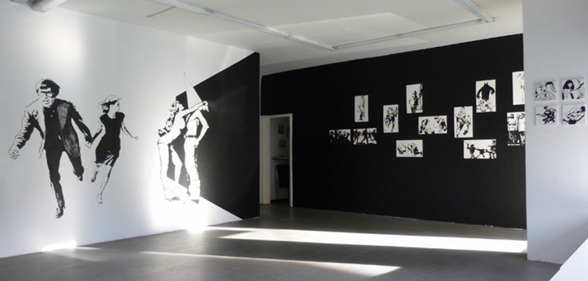 Christian Robles - The Blank Theory, 2012 - exhibition view