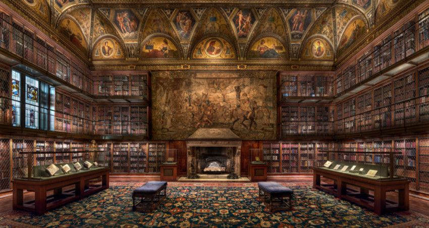 Christian Voigt - Morgan Library I, 2012