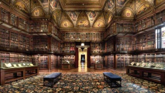 Christian Voigt - Morgan Library II, 2012