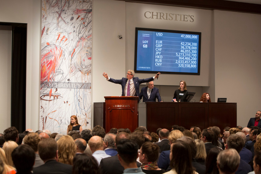 Christie's Auction - Image via pinterestcom