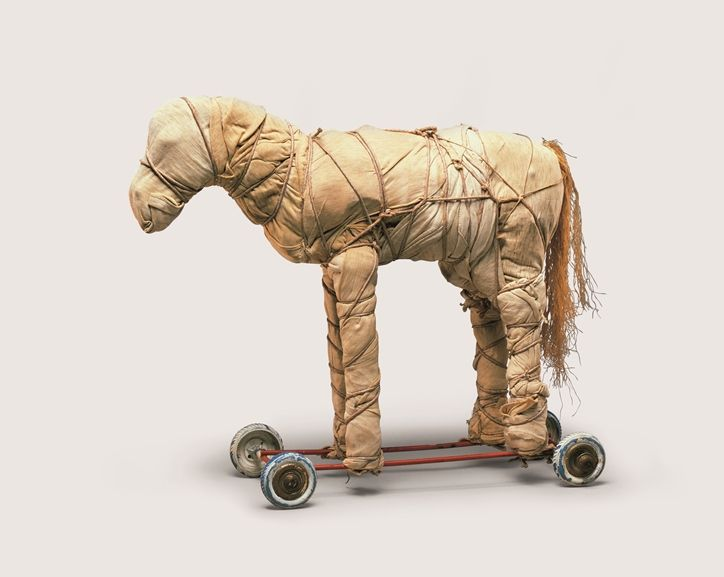 Christo & Jeanne Claude - Wrapped Toy Horse