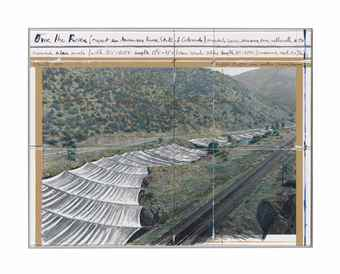 Christo and Jeanne-Claude-Over the River (Project for Arkansas River, State of Colorado)-1997