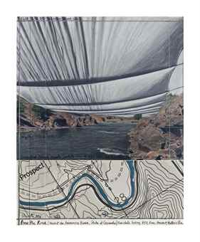 Christo and Jeanne-Claude-Over the River, Project for the Arkansas River, CO-1996