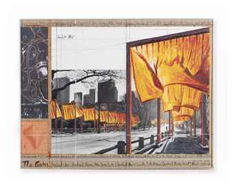 Christo and Jeanne-Claude-The Gates (Project for Central Park, New York City)-2004