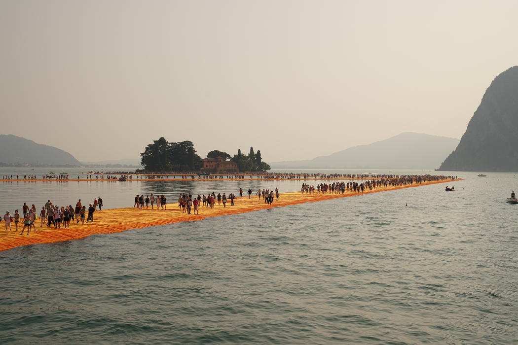 The Floating Piers; one of their projects