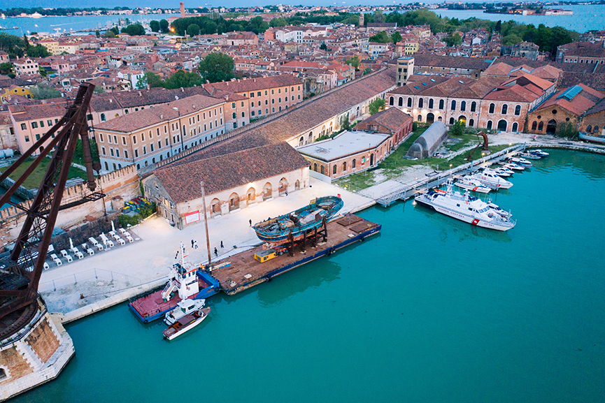 Christoph Buchel Barca Nostra Venice Biennale 2019