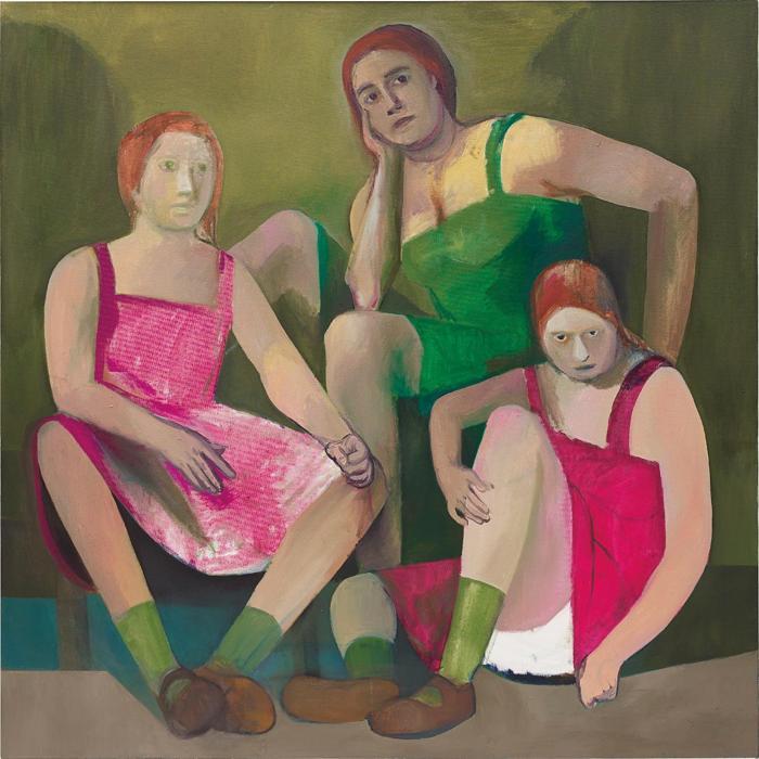 Christoph Ruckhaberle-3 Frauen-2002