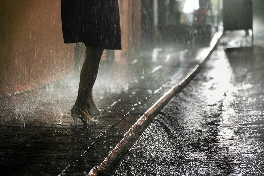 Christophe Jacrot - Rain Beauty, Hong Kong in the Rain series