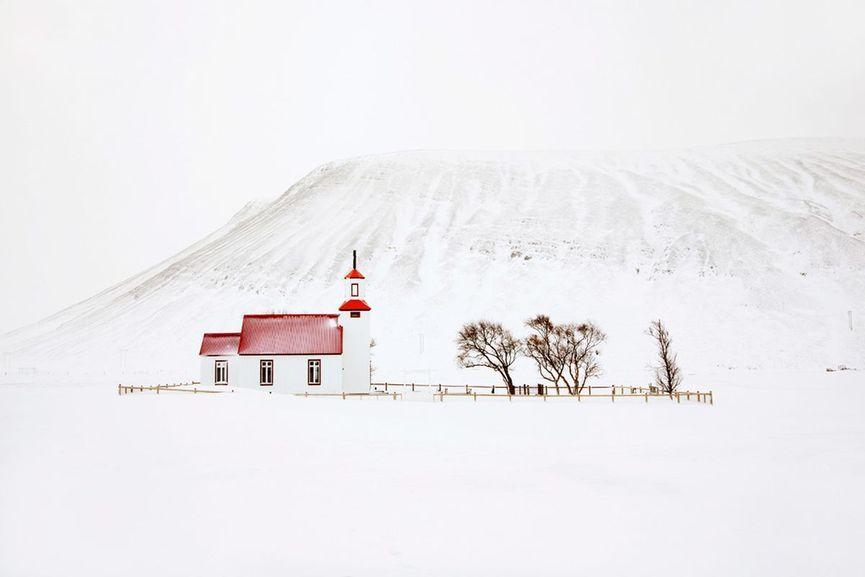 Christophe Jacrot - White Chapel, Snjór series, 2016