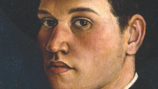 Christopher R. W. Nevinson - Self-portrait, 1911 (detail)