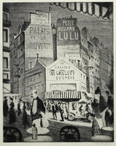 Christopher R. W. Nevinson-Place Blanche-1922