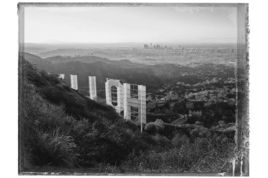 Christopher Thomas - Hollywood Sign I, Hollywood Hills, 2017