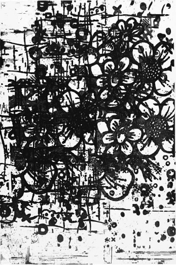 Christopher Wool-East Broadway Run Down (P291)-1999