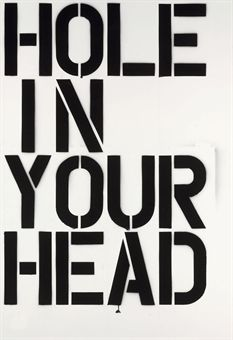 Christopher Wool-Hole-1992