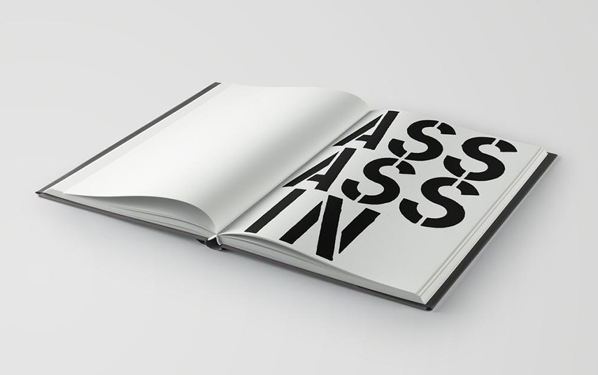 Christopher Wool - Page From Black Book