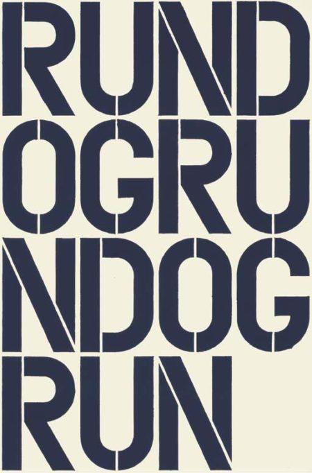 Christopher Wool-Rundogrundogrun (W17)-1990