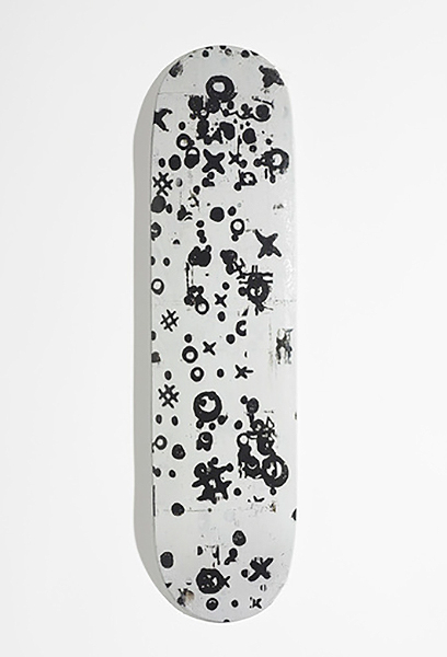Christopher Wool-Skatedeck (Black)-2008