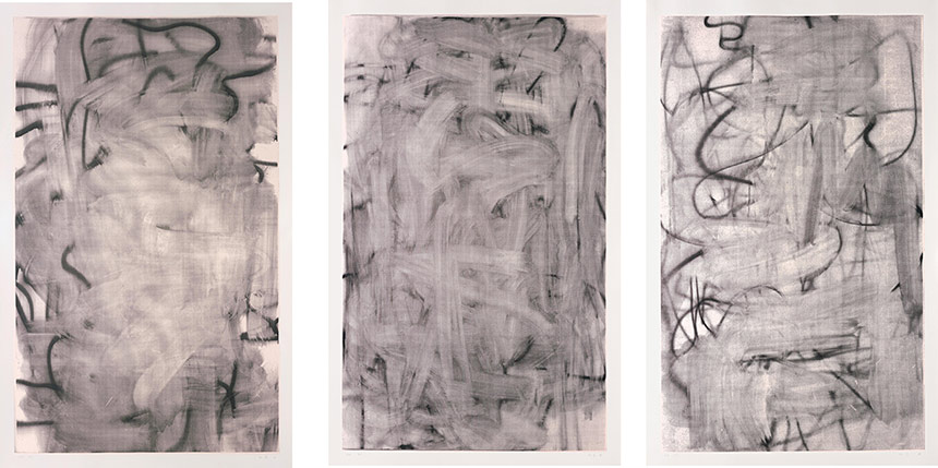 Christopher Wool-Three Women (Medium I, II, III)-2005
