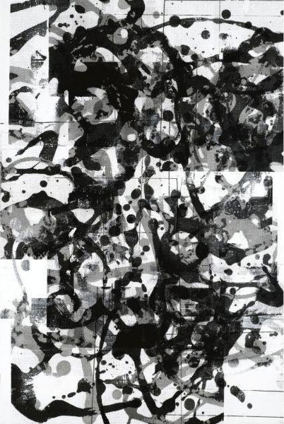 Christopher Wool-Untitled (Black Mix Up)-2000