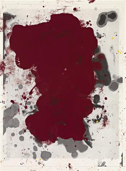 Christopher Wool-Untitled (Cherry Stain)-2011