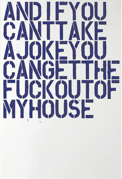 Christopher Wool-Untitled (F52)-1992