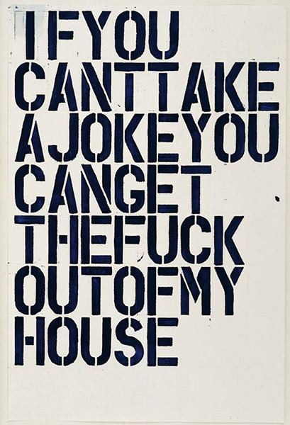 Christopher Wool-Untitled (F54)-1992