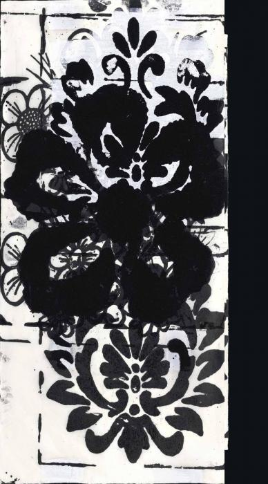 Christopher Wool-Untitled (Flower)-1994