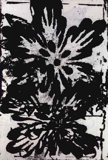 Christopher Wool-Untitled (Flower Lot 284)-1994