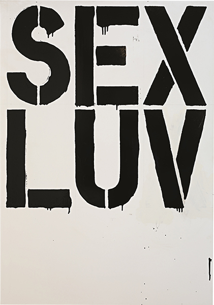 Christopher Wool-Untitled (S 69)-1992