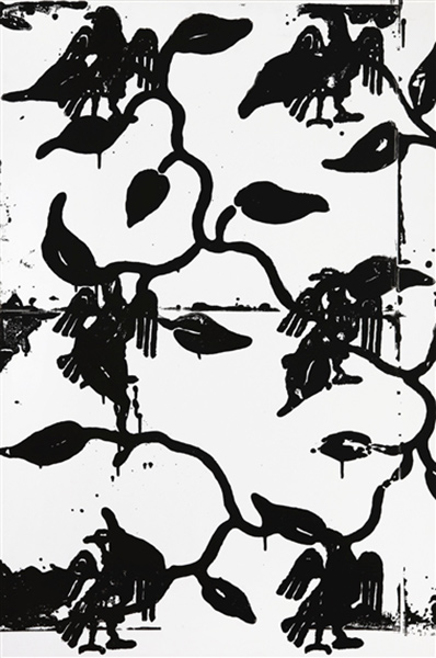 Christopher Wool-Untitled (S52)-1989