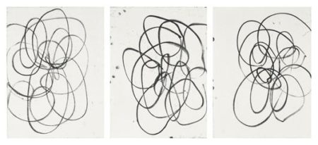 Christopher Wool-Untitled (Tryptych)-1998