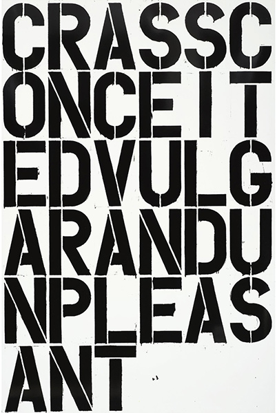 Christopher Wool-Untitled (W38)-1996
