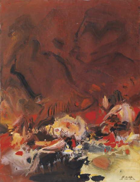 Chu Teh-Chun-Composition No.341-1970