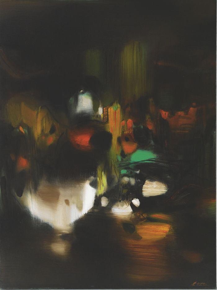 Chu Teh-Chun-Lumiere De La Nuit-1976