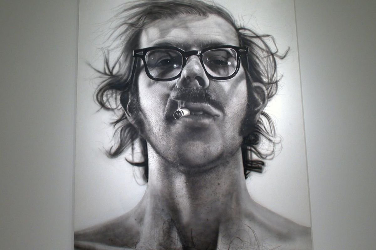 Chuck Close portrait chuck photographs canvas prints