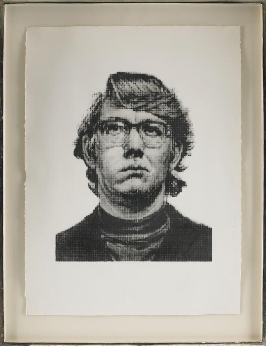 Chuck Close-Keith IV, State II-1975