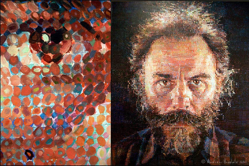 chuck close � wheelchair bound creative genius widewalls
