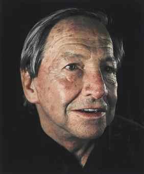 Chuck Close-Robert Rauschenberg-1996