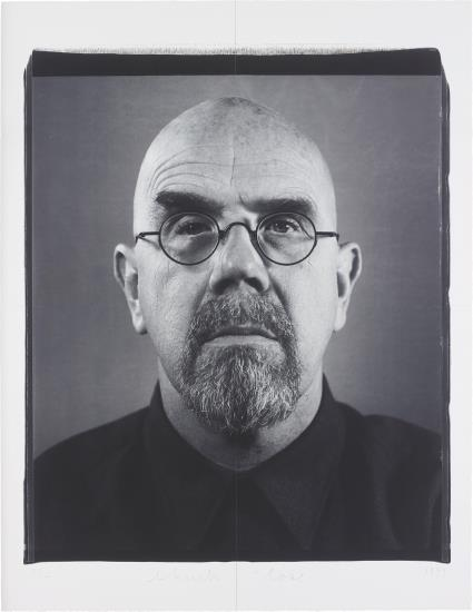 Chuck Close-Self-Portrait-1999