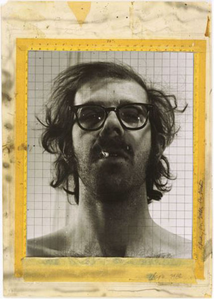 Chuck Close - Study for Self-Portrait, 1968