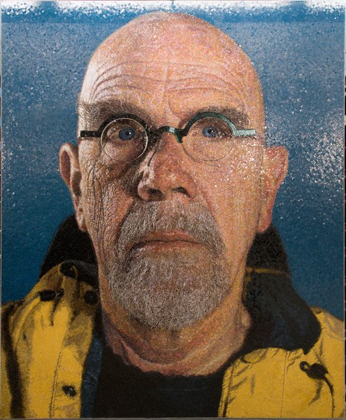 Chuck Close - Subway Portraits