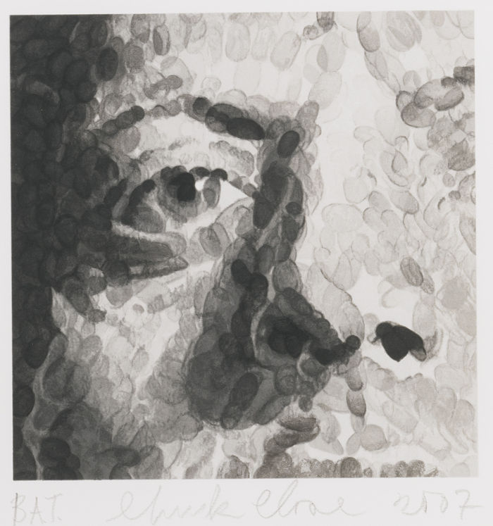 Chuck Close-Untitled (Phil)-2007
